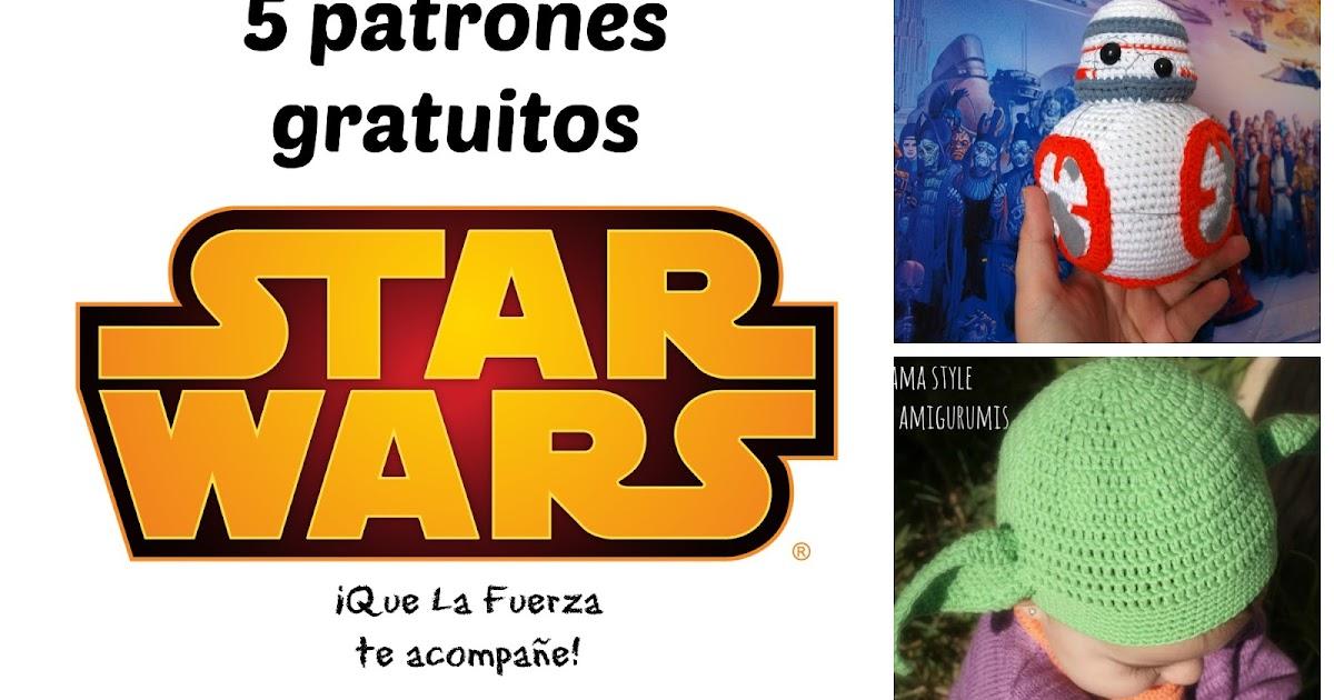 Marta Ruso Crochet Creativo: 5 patrones gratis STAR WARS - May the ...