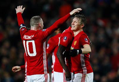 Rooney and Schweinsteiger