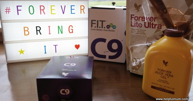 C9 FIT Forever Living Review #ForeverBringIt #ad | Helpful Mum