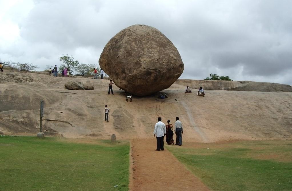 Balancing Rock-Mahabalipuram