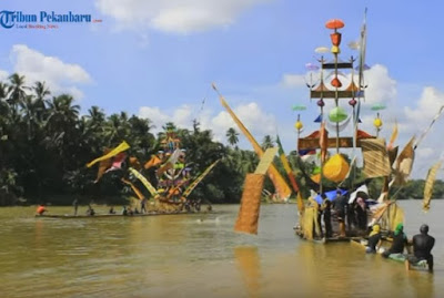 Sejarah Perahu Baganduang Lubuk Jambi, Budaya Kuansing