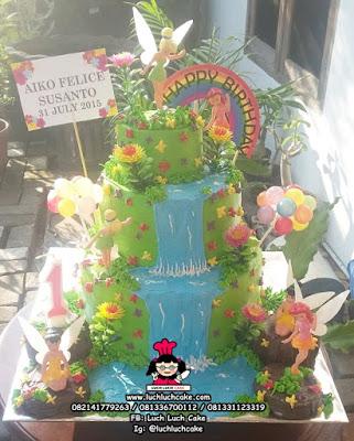 Birthday Cake Tinkerbell Tingkat Lucu dan Cantik
