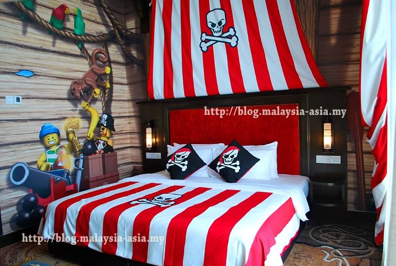 Pirate Room Legoland Hotel Malaysia