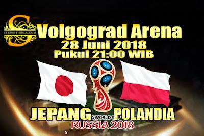AGEN BOLA ONLINE TERBESAR - PREDIKSI SKOR PIALA DUNIA 2018 JEPANG VS POLANDIA 28 JUNI 2018