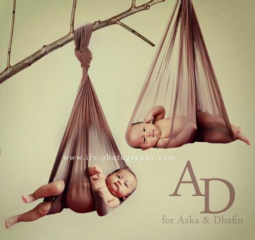 Paket foto newborn azka dhafin