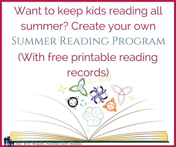 Create your own summer reading program