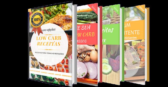 100 receitas low carb que vão definitivamente te ajudar a emagrecer comendo bem!