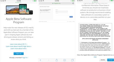 Cara Download iOS 11 Beta di iPhone Anda 1