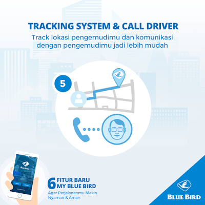 Tracking System and Call Driver my blue bird