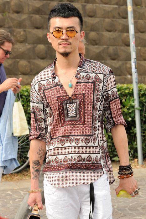 men s bohemian fashion
