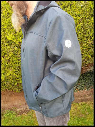 Soft fleece lined jacket from Jacamo is a win in our house