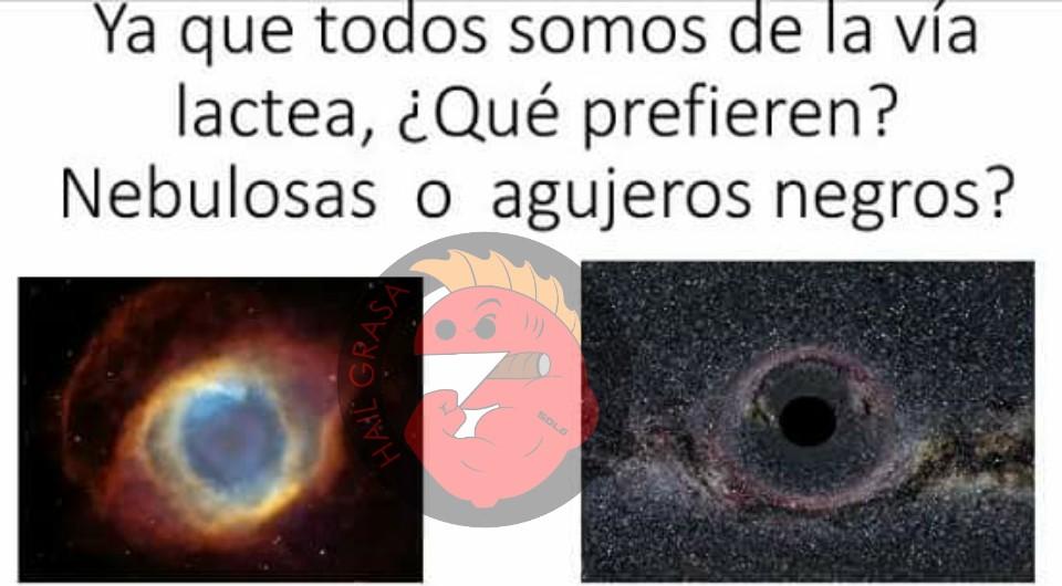 El agujero negro de tu gfa xd