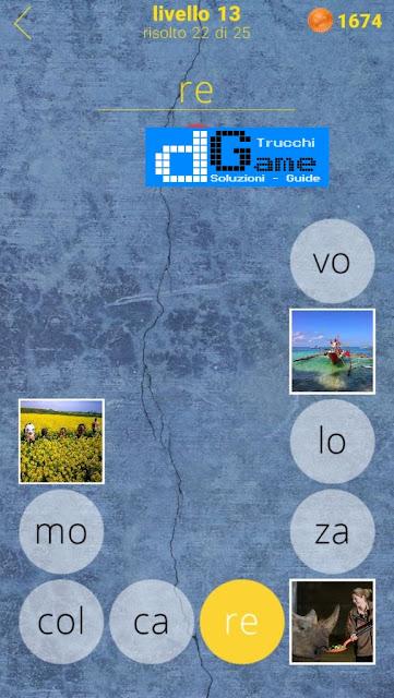 650 Parole soluzione livello 13 (1 - 25) | Parola e foto