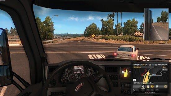 american truck simulator apk data download