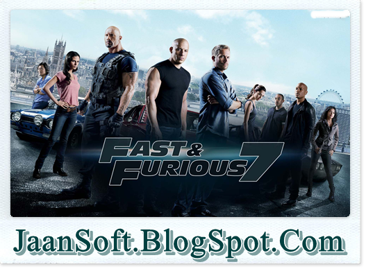 Fast and Furious 7 PC Game Full Version Download