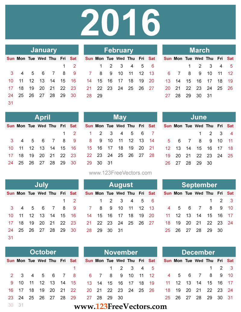 Year Calendar Free Printable : Yearly calendar to print hd calendars kalendar