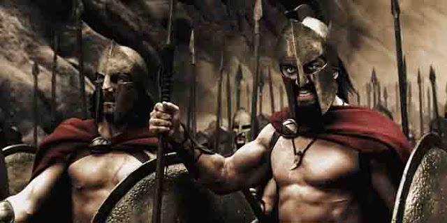 film perang kerajaan yunani Kolosal Film 300