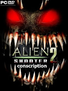 alien shooter 2 conscription+pc+game+shooter+isometric+gore+cover