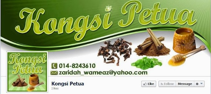 Tempahan Design Facebook Cover Photo : Kongsi Petua