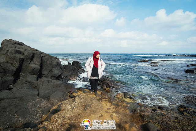 Simple scenery for a nice portrait at the island