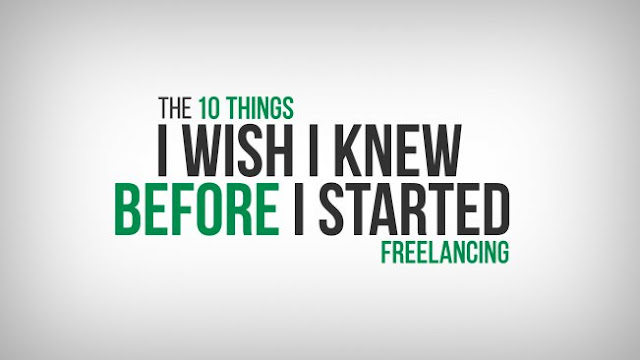 The 10 Things I Wish I Knew Before I Started Freelancing