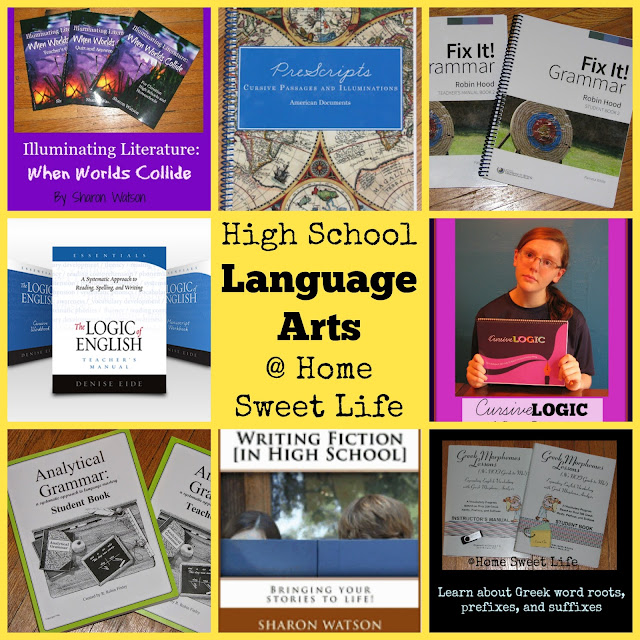 Homeschooling High School, Language Arts