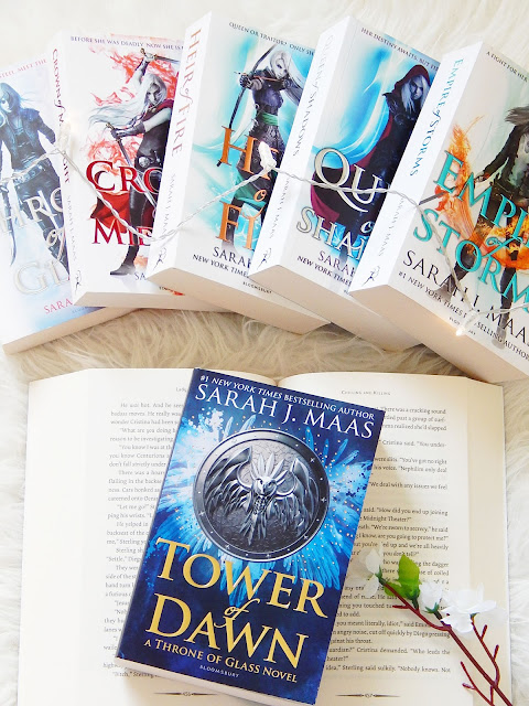 Tower Of Dawn Book Review | sprinkledpages