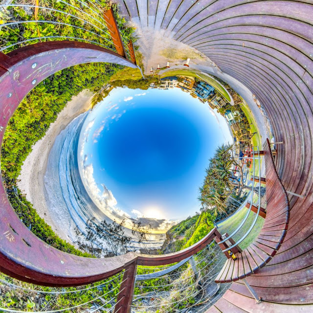 Eye-opening 360-degree landscapes by Brendon Gee