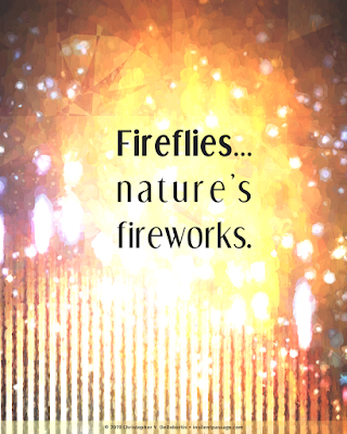 Todays Tendril... [20190712] - Fireflies Copyright 2019 Christopher V. DeRobertis. All rights reserved. insilentpassage.com