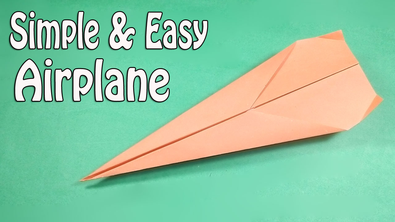 How To Make Paper Airplanes That Fly Far And Straight Easy