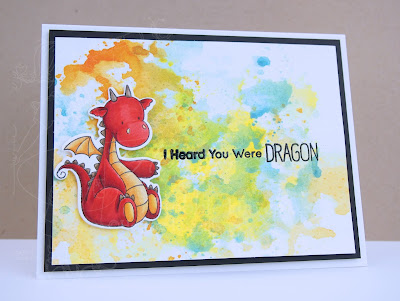 Heather's Hobbie Haven - Magical Dragons Card
