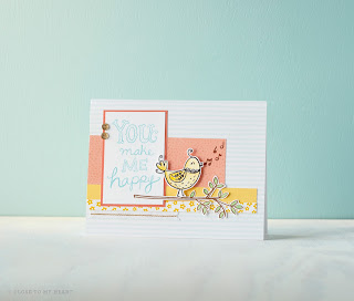 CTMH Sunshine Birdies Stamp Set SOTM