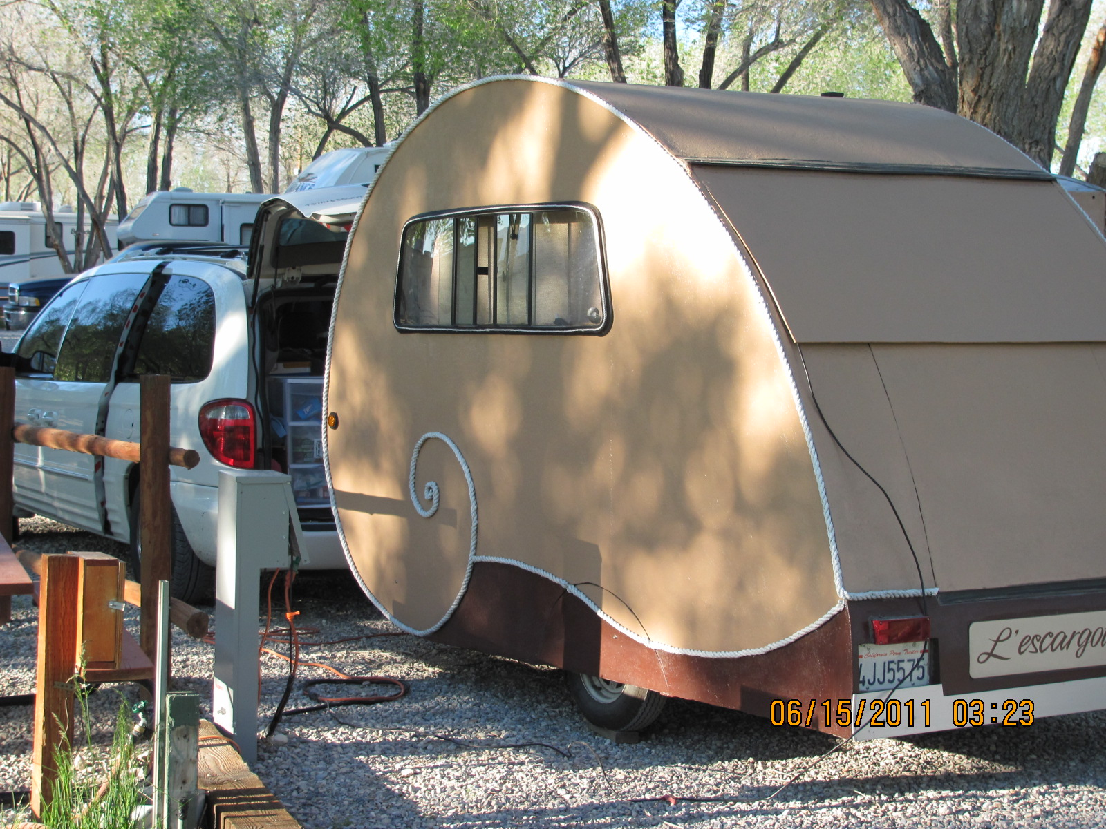 Very Nice Pull Type Travel Trailers