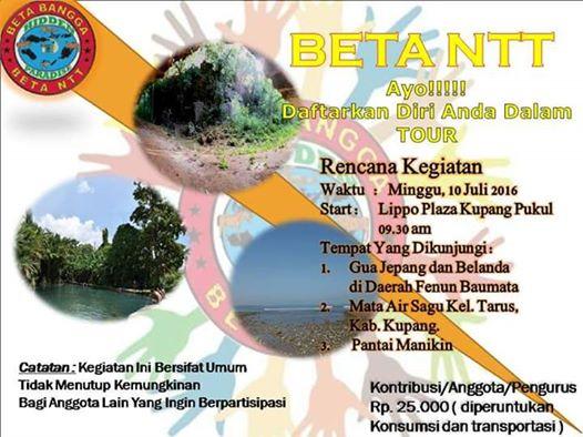 Tour Komunitas Beta NTT