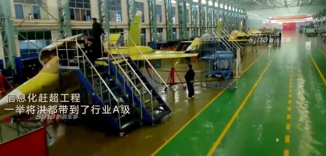 الصين تكشف النقاب عن طائرتها الهجومية الجديدة من طراز L-15B Chinese%2BHongdu%2BL-15%2BProduction%2Bline%2B2