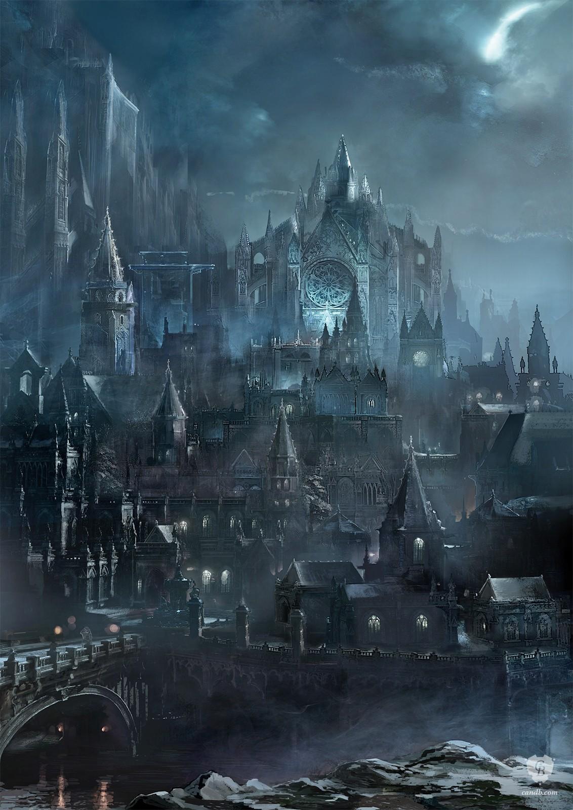 The geeky nerfherder coolart 39 dark souls iii 39 video for Dark souls 3 architecture