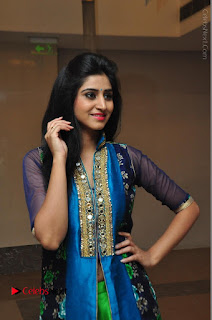 Actress Model Shamili Sounderajan Pos in Desginer Long Dress at Khwaaish Designer Exhibition Curtain Raiser  0010.JPG