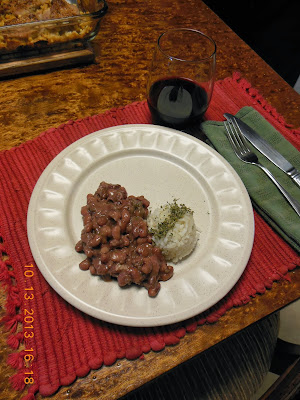 Anasazi beans, a simple preparation makes a delicious dish of beans.