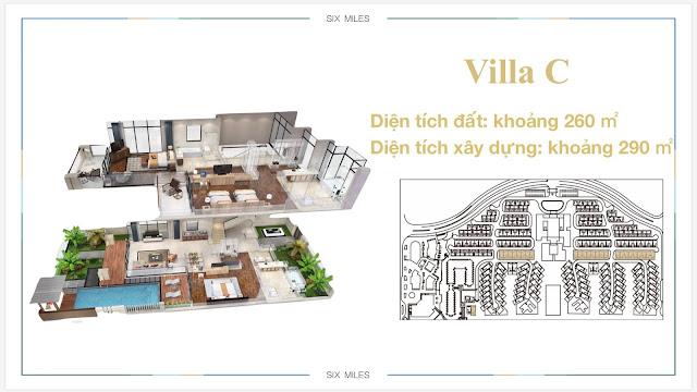 Mẫu Villa C