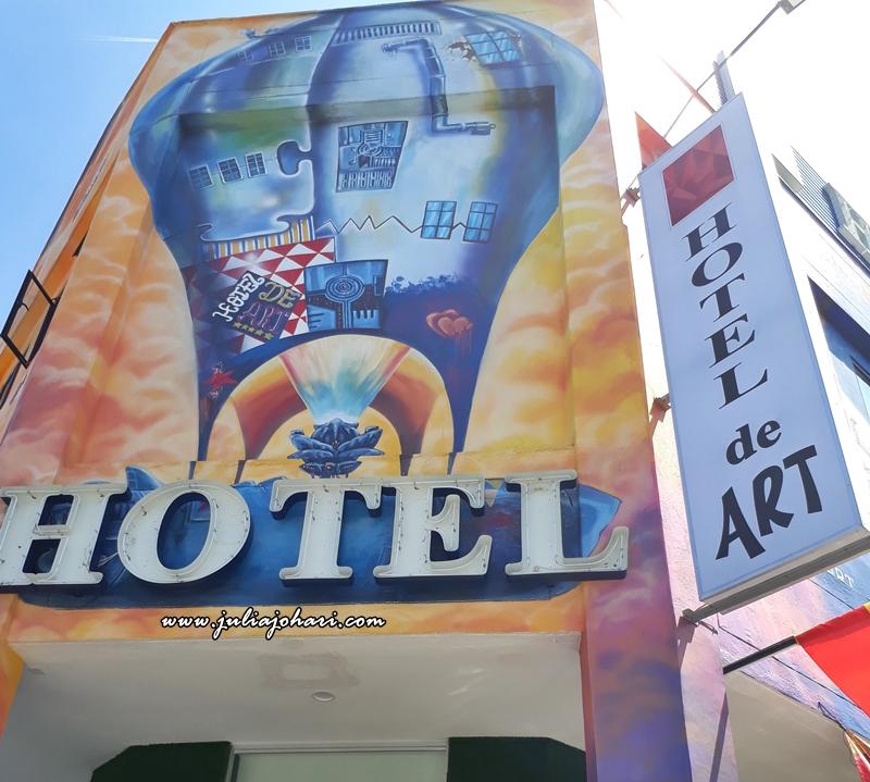 Hotel De Art Seksyen 9 Shah Alam beri kejutan bilik istimewa bertemakan lukisan art !