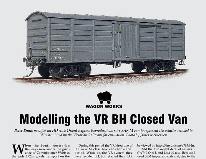 Australian Model Railway Magazine: November 2018
