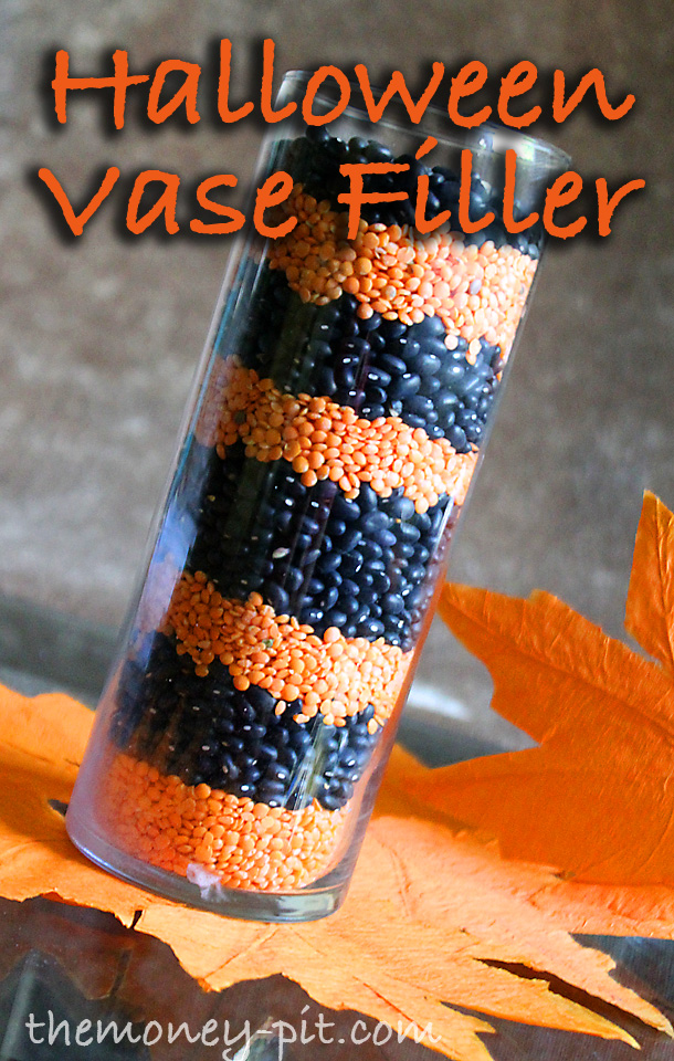 Halloween Bean And Lentil Vase Filler The Kim Six Fix