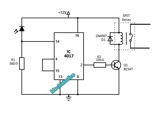 Circuit Description Of Infrared Ir Remote Control Switch