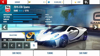 Asphalt 8 v2.7.1a Mod Unlock All Car Apk Android
