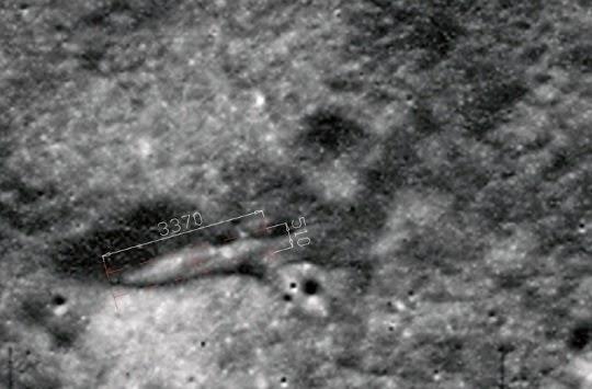Ancient Alien Spaceship On Moon