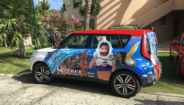 Sea TREK vehicle wrap