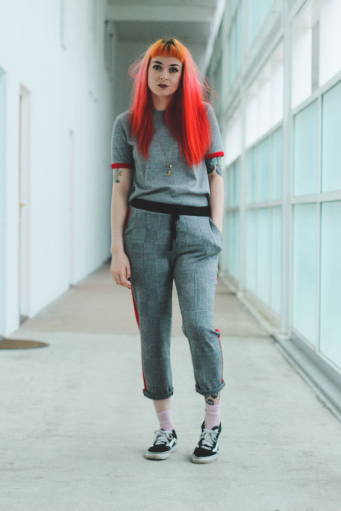 Alternative style blogge foxxtailz in Zara