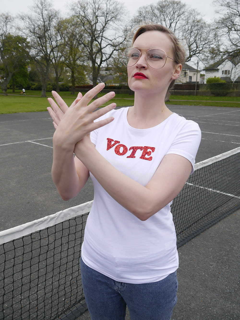 vote for Pedro, Napolean Dynamite dance routine, Unlikely Style Icon, politcal statement tee trend, quirky style blog