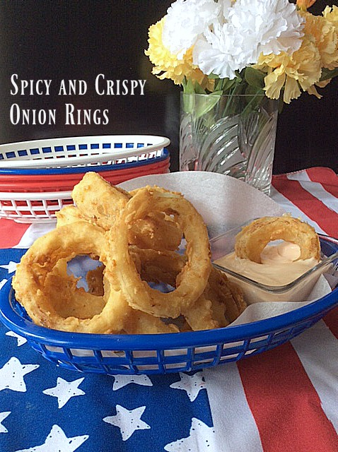 Spicy and Crispy Onion Rings ~ sizzling summer sensation that will ...