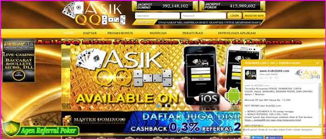 AsikQQ Situs Judi Online Terbesar di Indonesia